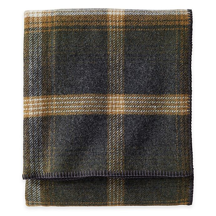 Alternate image 1 for Pendleton® Eco-Wise Wool King Washable Blanket in Black Multi