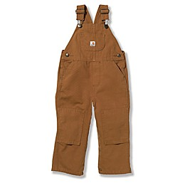 Carhartt® Washed Bib Overall in Brown
