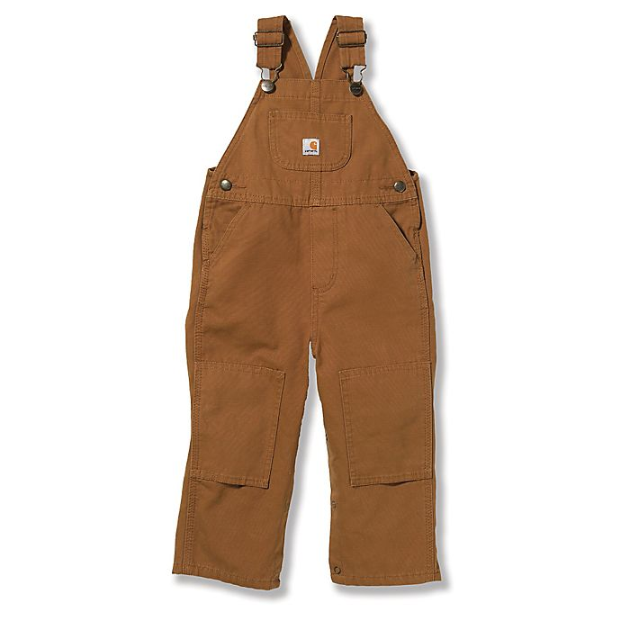 Alternate image 1 for Carhartt® Washed Bib Overall in Brown