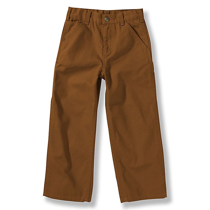 Alternate image 1 for Carhartt® Washed Duck Dungaree Pant in Brown