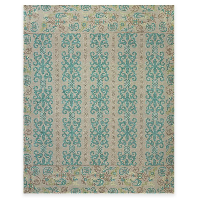 Alternate image 1 for Tracy Porter® Tamar 2-Foot x 3-Foot Accent Rug in Teal/Green