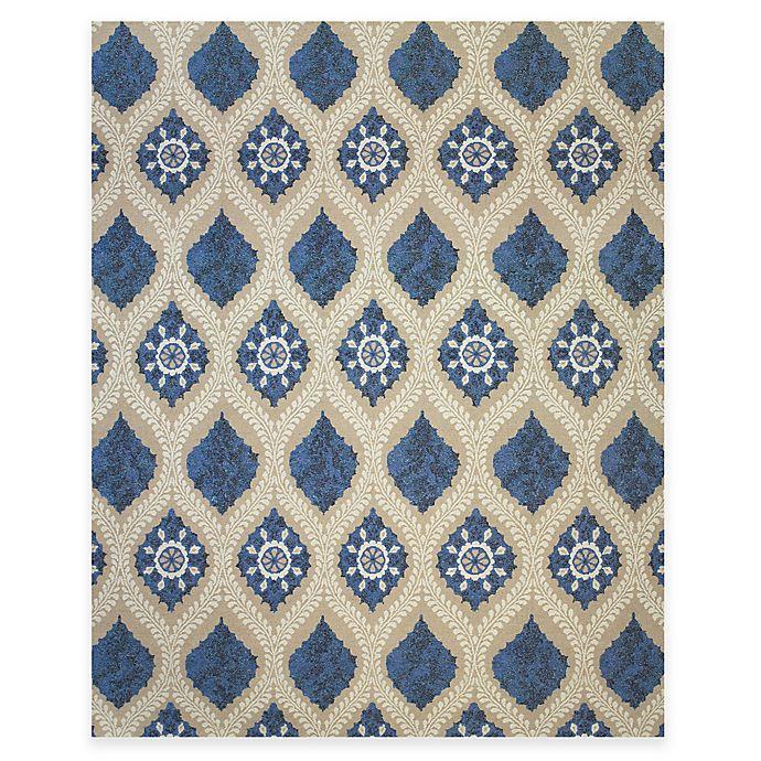 Alternate image 1 for Tracy Porter® Tamar 2-Foot x 3-Foot Accent Rug in Blue