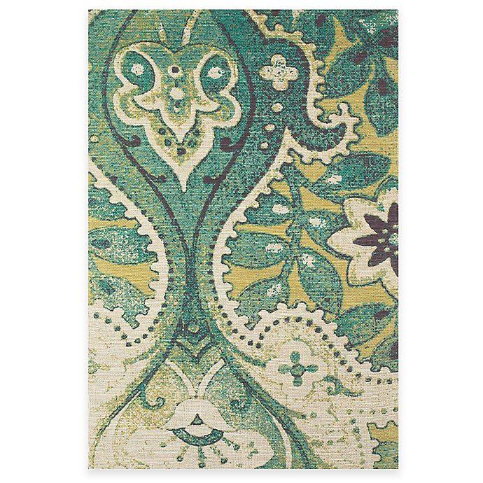Alternate image 1 for Tracy Porter® Poetic Wanderlust® Coronado 5-Foot x 8-Foot Area Rug in Green