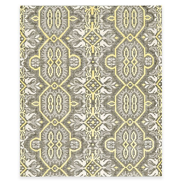 Alternate image 1 for Tracy Porter® Poetic Wanderlust® Rumi 7-Foot 9-Inch x 9-Foot 9-Inch Area Rug in Maize