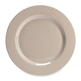 Real Simple® Dinner Plate in Taupe