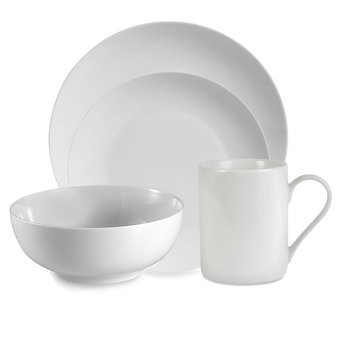 Alternate image 1 for Everyday White® by Fitz and Floyd® Coupe Dinnerware Collection