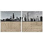 Thirstystone® Chicago Maps Coasters (Set of 4)