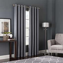 Bianca 84-Inch Window Curtain Panel in Blue