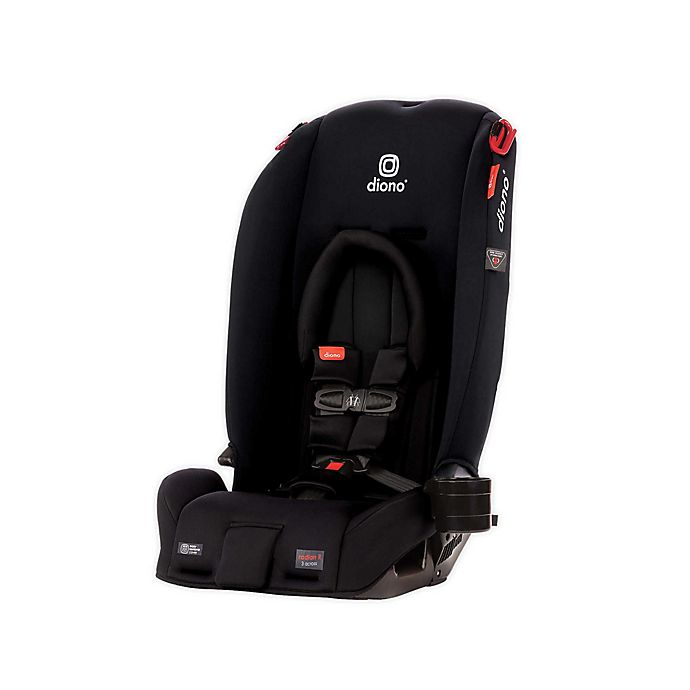 Alternate image 1 for Diono® radian® 3RX All-in-One Convertible Car Seat in Black Jet