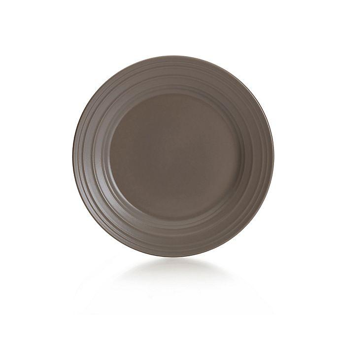 Alternate image 1 for Mikasa® Swirl Salad Plate in Mocha