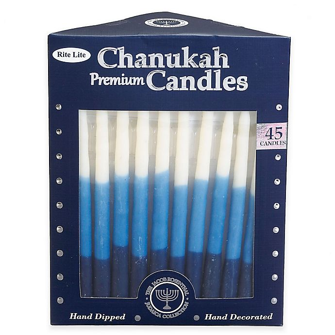 Alternate image 1 for Premium Hand Dipped Chanukah Candles