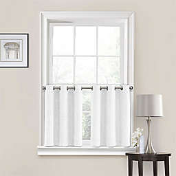 Quinn Grommet Kitchen Window Curtain Tier Pair