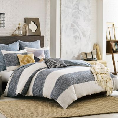 Kas Room South Hampton Duvet Cover In Blue Bed Bath Amp Beyond