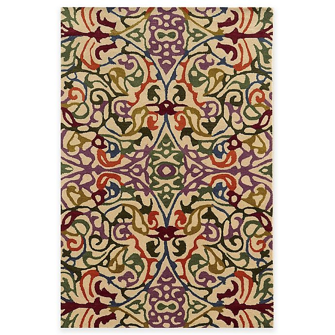 Alternate image 1 for Rizzy Home Bradberry Downs Multi Damask Rug