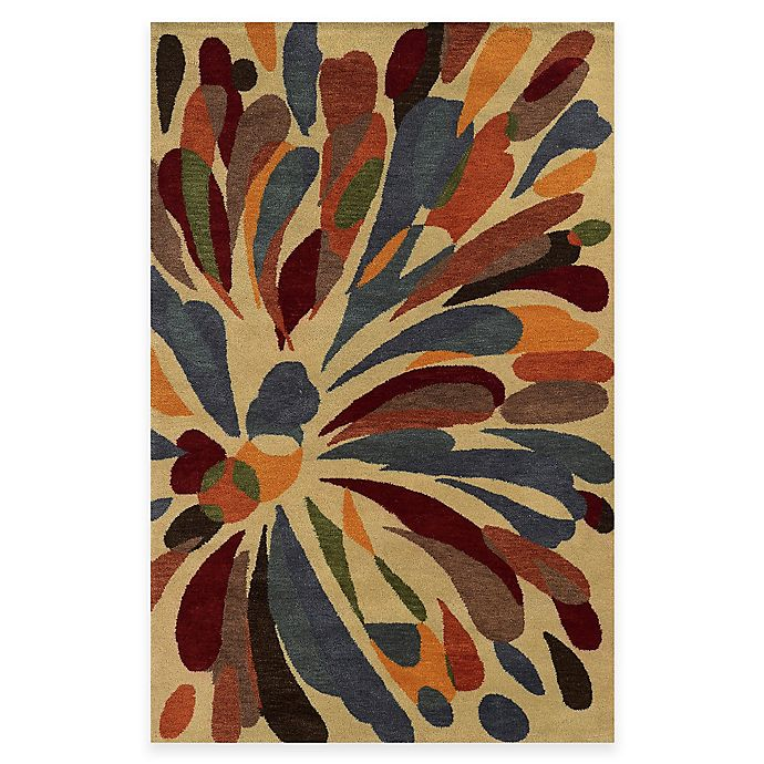 Alternate image 1 for Rizzy Home Bradberry Downs Floral Rug