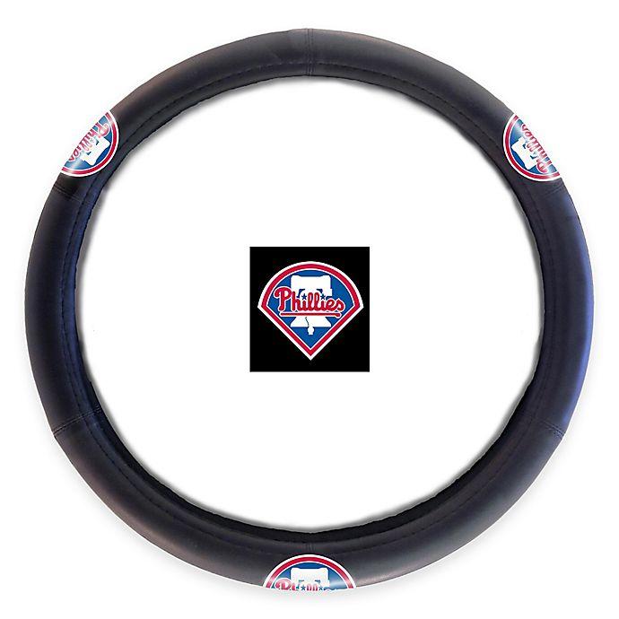 Alternate image 1 for MLB Philadelphia Phillies Steering Wheel Cover