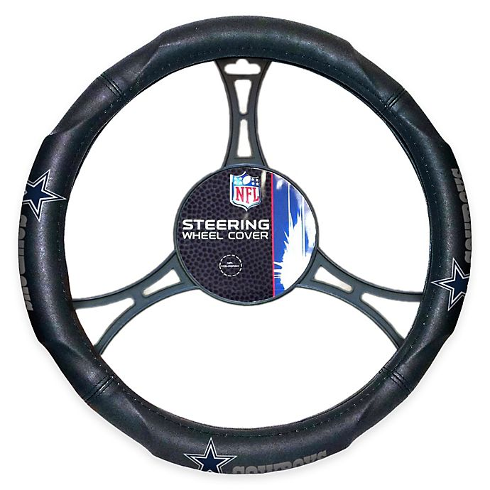 Alternate image 1 for NFL Dallas Cowboys Steering Wheel Cover