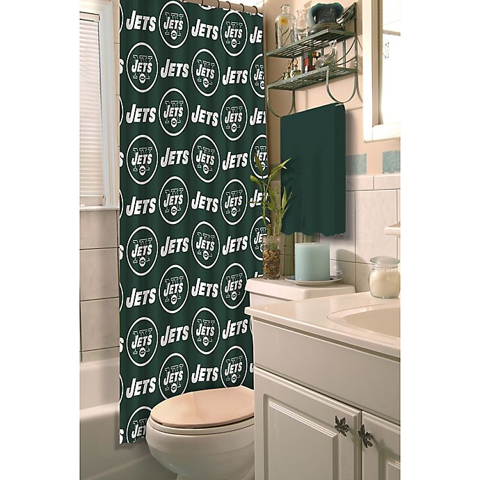 Nfl New York Jets Shower Curtain Bed Bath Amp Beyond