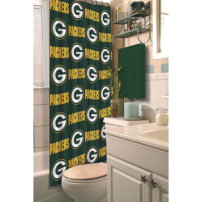 Alternate image 1 for NFL Green Bay Packers Shower Curtain