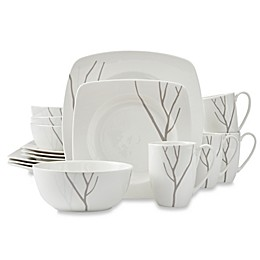 Lenox® Park City™ 16-Piece Square Dinnerware Set
