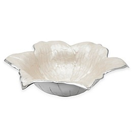 Julia Knight® Flowers Lily 15-Inch Bowl in Snow