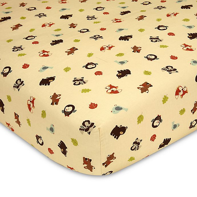 Alternate image 1 for carter's® Friends Fitted Crib Sheet