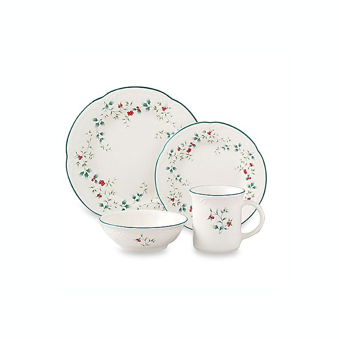 Alternate image 1 for Pfaltzgraff® Winterberry Dinnerware Collection