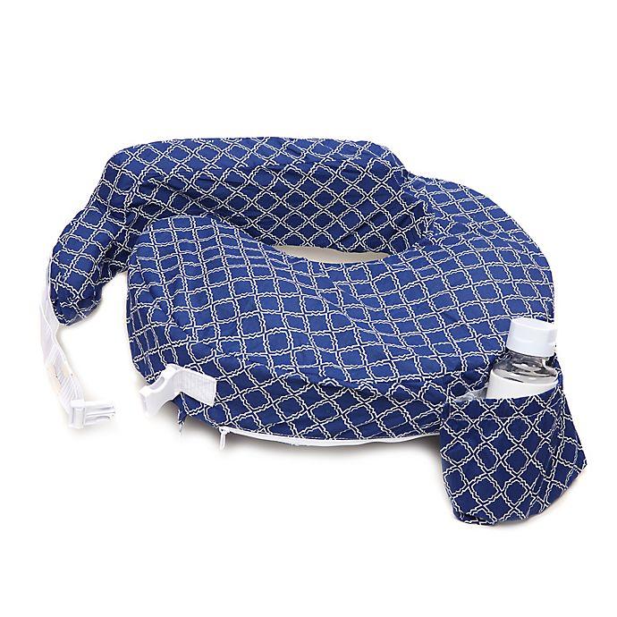 Alternate image 1 for My Brest Friend® Original Nursing Pillow in Navy Kaleidoscope