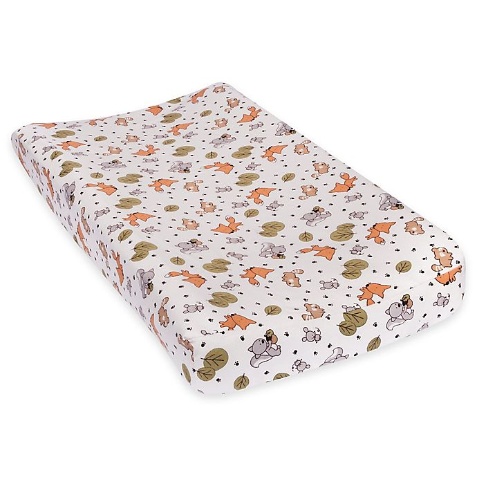 Alternate image 1 for Trend Lab® Friendly Forest Deluxe Flannel Changing Pad Cover