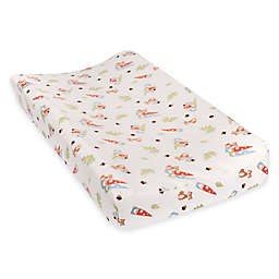 Trend Lab® Forest Gnomes Deluxe Flannel Changing Pad Cover