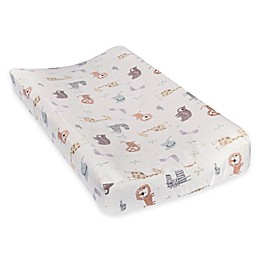Trend Lab® Crayon Jungle Deluxe Flannel Changing Pad Cover