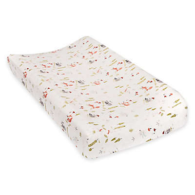 Trend Lab® Winter Woods Deluxe Flannel Changing Pad Cover