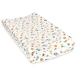 Trend Lab® Jungle Friends Deluxe Flannel Changing Pad Cover