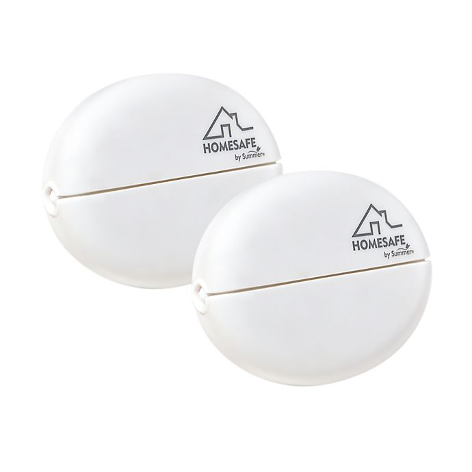 Alternate image 1 for HOMESAFE™ by Summer Infant® Blind Cord Shorteners in White (Set of 2)
