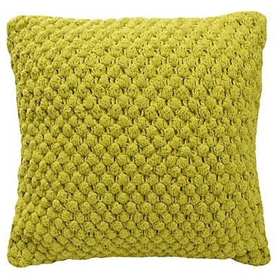 Blink® Pranna Bobble Knit Square Throw Pillow