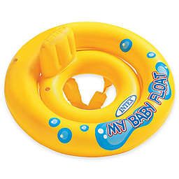 Intex® My Baby Float with Pillow Backrest in Yellow