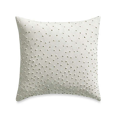 Barbara Barry® Clover Textured Knot Square Throw Pillow in Mint