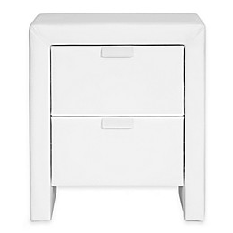 Baxton Studio Upholstered Modern Nightstand