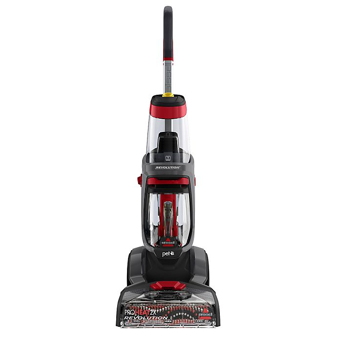 Bissell Proheat 2x Revolution Pet Carpet Cleaner In Titanium Bed