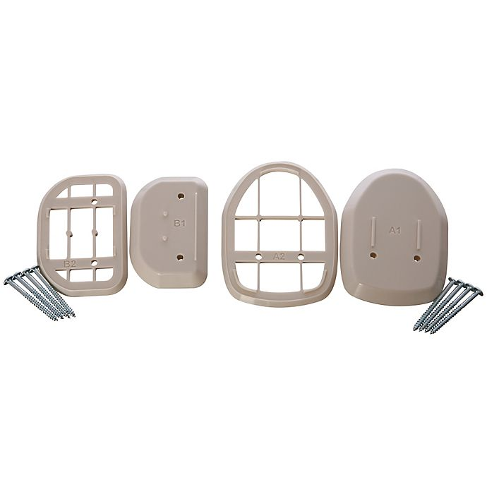 Alternate image 1 for Dreambaby® Spacers for Retractable Gate in White