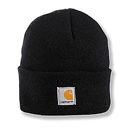 Carhartt® Toddler Foldover Knit Hat in Black