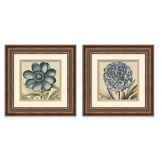 Transitional Bloom Framed Wall Art