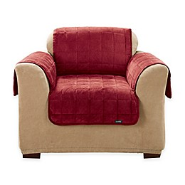 Sure Fit® Deep Pile Velvet Furniture Cover