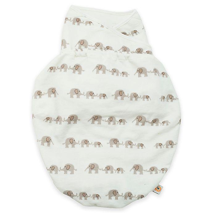 Alternate image 1 for Ergobaby® Elephant Lightweight Swaddler in Ivory