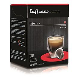 Caffesso™ 10-Count Intenso Nespresso Compatible Capsules