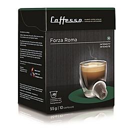 Caffesso™ 10-Count Forza Roma Nespresso Compatible Capsules