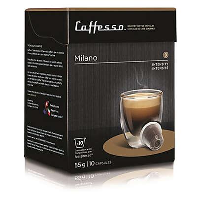 Caffesso™ 10-Count Milano Nespresso Compatible Capsules