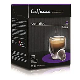 Caffesso™ 10-Count Aromatico Nespresso Compatible Capsules