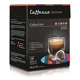 Caffesso™ 10-Count Collection Nespresso Compatible Capsules