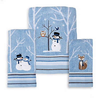 Winter Friends Seasonal Bath Towel Collection